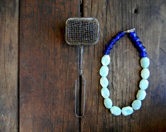 Blue Amazonite Necklace Wedding Sundance style jewelry