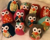 Tiny chubby owls for Ministry of Mercy