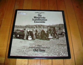 Minnesota Scandinavian Esemble Record Album Scandinavian American Old Time Music