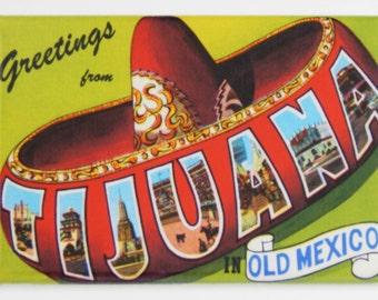Greetings from Tijuana Fridge Magnet
