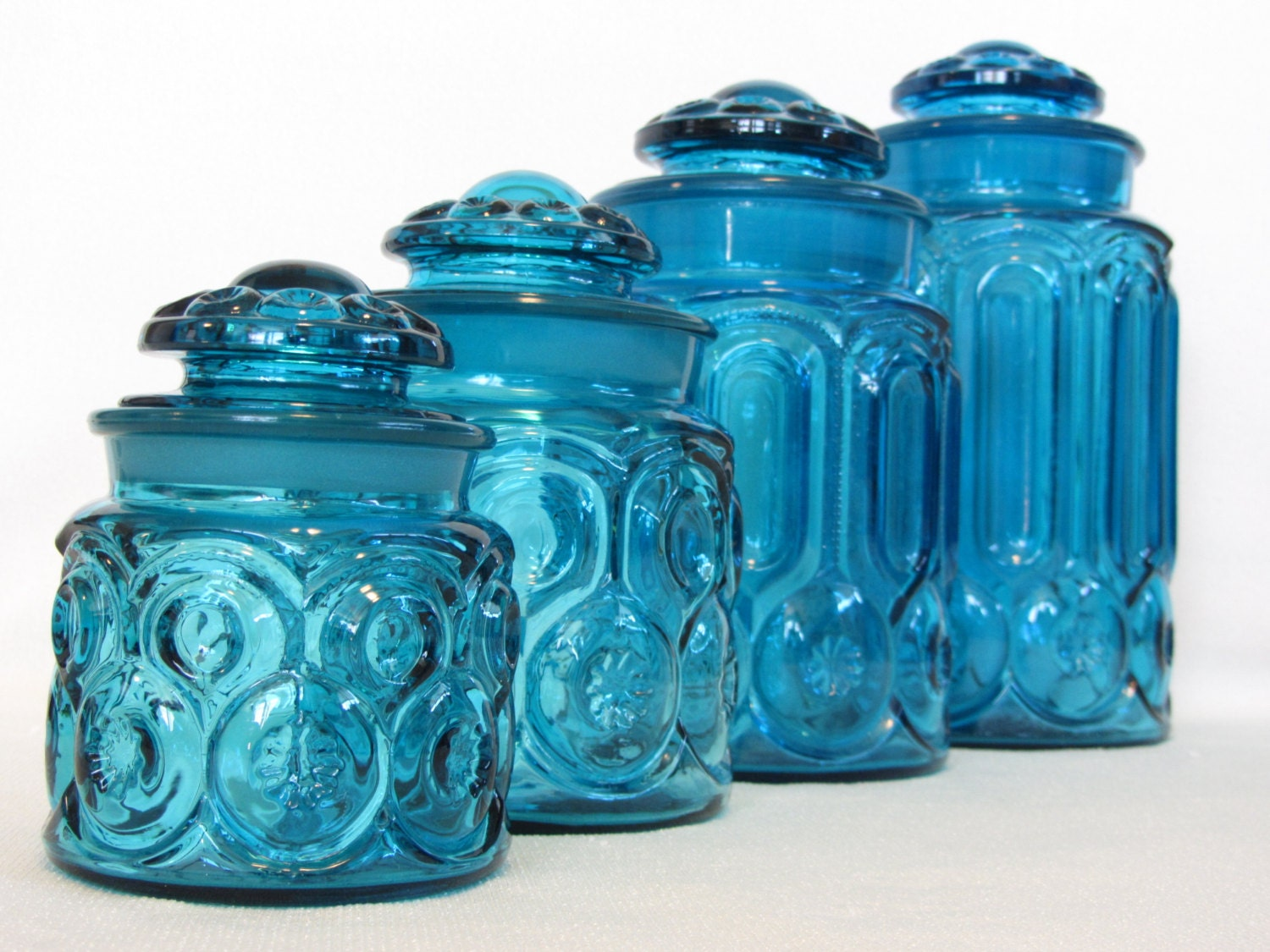 100 blue kitchen canister storage containers jars canisters world market glass canister - Blue glass kitchen canisters ...