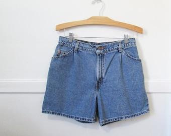 Levi's Jean Shorts Vintage 80s 90s Orange Tab 30 x 5