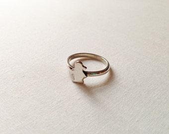 925 Sterling Silver Penguin Ring, Baby Penguin, Cute Animal Ring, Gift