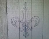 Fleur De Lis Wall Art 24 Inch Tall