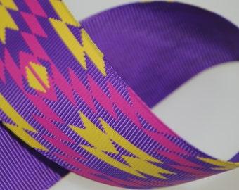 "1.5"" Southwest Style Printed Grosgrain"
