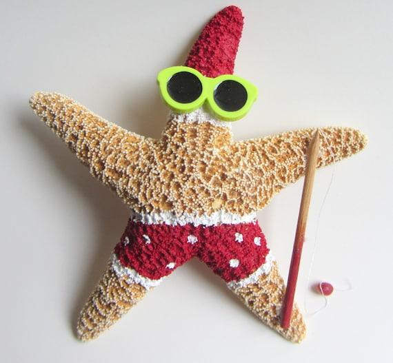 Santa Starfish Decoration