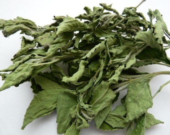 Organically Grown Dried Stevia // Whole Leaf