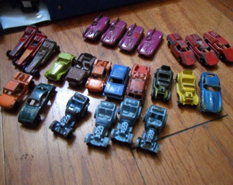 Big Collection of Tootisetoy penny cars. all metal,    24 cars