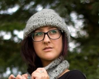 Box Stitch Chunky Hat Crochet Pattern