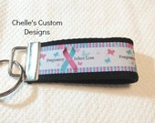 Infant Pregnancy Loss Medium 4 inch keychain key fob