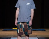 Custom Order for  Doug MENS Med/Large Cargo Patchwork Shorts