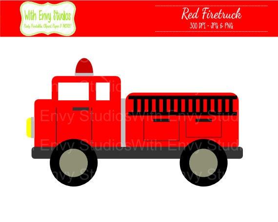 Blazing Fire Clipart Fire Truck Clipart