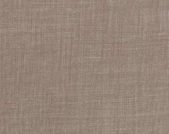 Weave by Moda Fabrics, Stone, Gray Fabric, 1 yard fabric, 02247