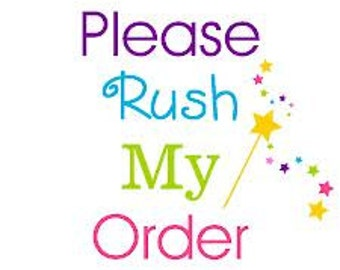 RUSH Order Upgrade - Hats & Photo Prop Sets ONLY