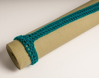 Yoga Mat Strap, Yoga Mat Sturdy Sling Handle - US Shipping Included - Teal, Ready to Ship Original HH Design