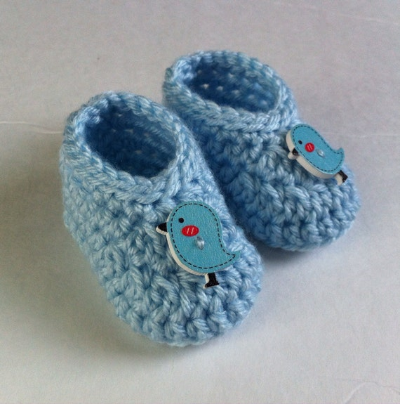Crochet Shoes Baby Boy Shoes Booties Newborn Knit Boots Infant