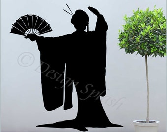 silhouette japanese wall - photo #7