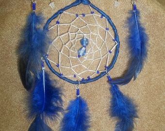 navy blue dream catcher