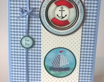 A day at the Seaside - Lifesaver, For You,  Handmade