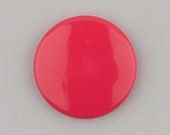 B33 Hot Pink KAM Snaps for Cloth Diapers/Bibs/Crafts/Plastic Snap Buttons