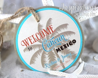 Welcome Bag Tags