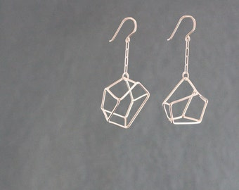 Gem Cage Earrings