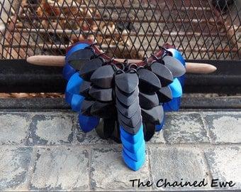 Blue Jay, Hair Barrette