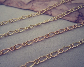 6.5ft  gold color necklace chain 2mm