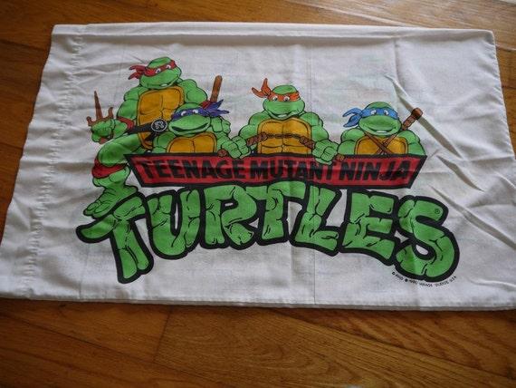 Ninja Turtles Pillow Case