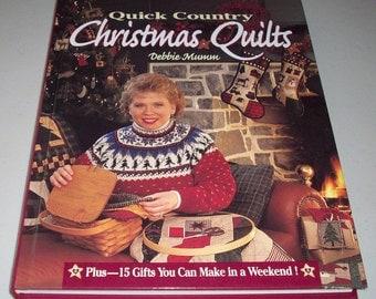 Debbie Mumm's Christmas Quilts  Book