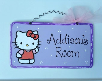 PRINCESS CASTLE Personalized Sign Girls Room Decor Wood Painted