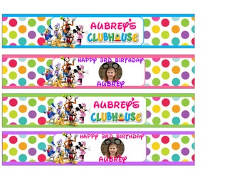 Custom Waterbottle Labels (Set of 4 labels)