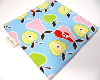 Reusable Sandwich Bag,  Eco Sandwich Bag, Mod Fruit Sandwich Bag, Reusable Snack Bag, Back To School