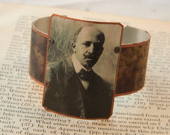 DuBois bracelet mixed media jewelry history African American WEB DuBois