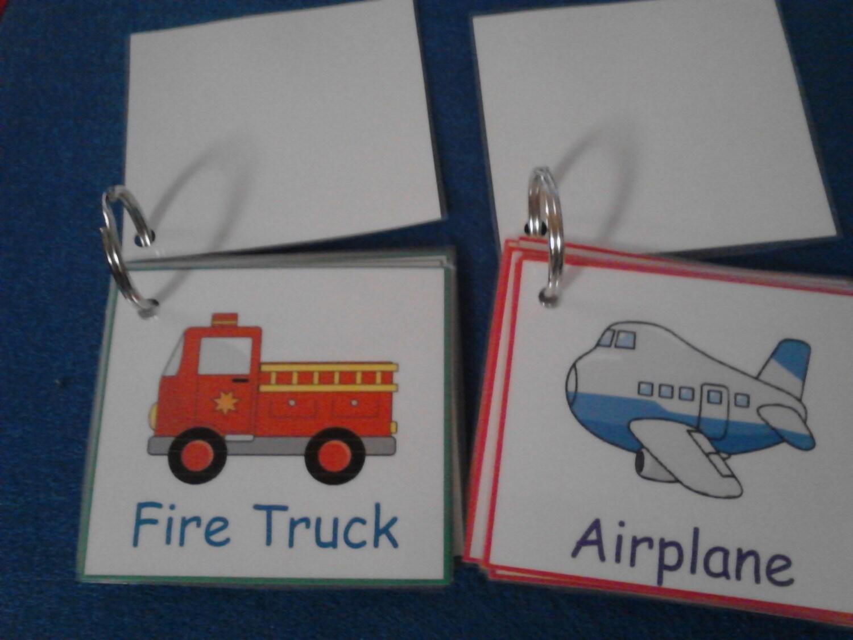 Transportation Flashcards Laminated Transportation