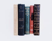 Selection of 5 vintage hardcover books