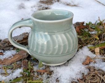 Carved Porcelain Teacup