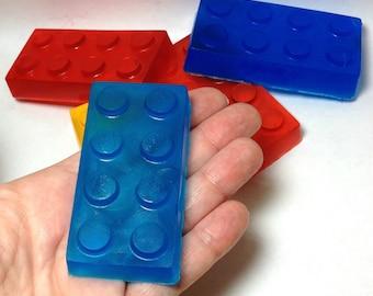 Bath Builder Blocks Soap Set for Kids