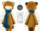 lalylala crochet pattern LION LONI - amigurumi