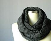 Christmas SALE, knit scarf, infinity scarf, chunky cowl, cowl scarf, circle scarf, man women unisex scarf, women chunky scarves