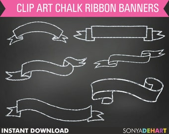 80% OFF Sale Chalk Ribbon Clipart, Chalk Clipart Ribbon, Digital Chalk Banner, Chalk Clipart Banner, Chalk Clipart, Chalk Clip Art
