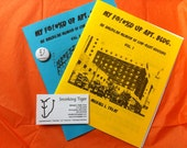 Volumes 1 and 2 Paper Zine: My F-Ed Up Apartment Building, An American Memoir of Low-Rent Housing