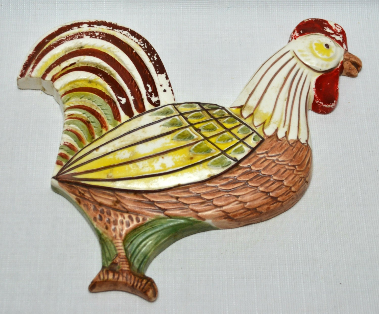 Vintage Ceramic Rooster 70