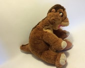 Vintage Land Before Time Little Foot Plush dinoasur Toy