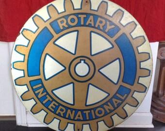 International rotary sign