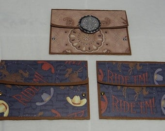 Gift Card Holder - Any Occasion 2 Pack - Western