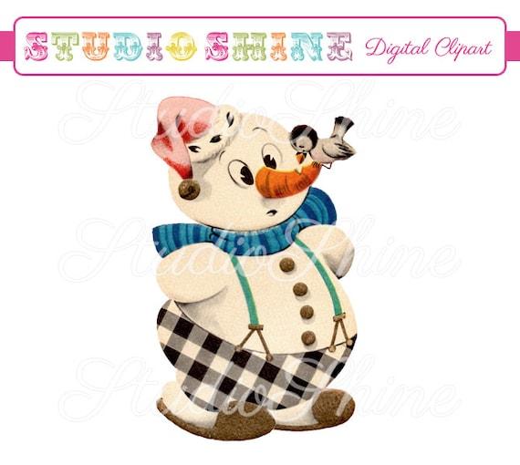 vintage snowman clipart - photo #29