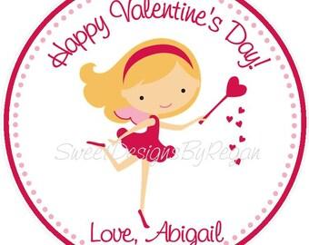 Valentine's Day  Favor Tag