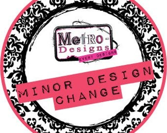 Minor Design Change