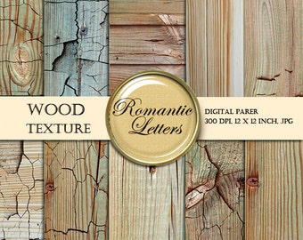 Wood Texture digital paper pack Scrapbooking digital Papers wood  background  newborn  photography digital backdrop Shabby Chic wood paper